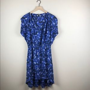 Express Hi-Low Stretch Waist Dress (Size Medium)